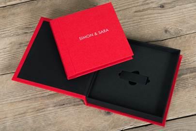 Reportagepakket inclusief albumbox en usb