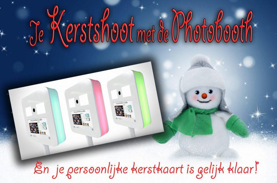 Kerstshoot met de Photobooth: en klaar is de persoonlijke kerstkaart voor dit jaar